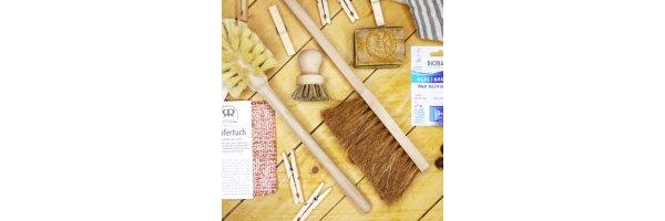 Putzen und Waschen