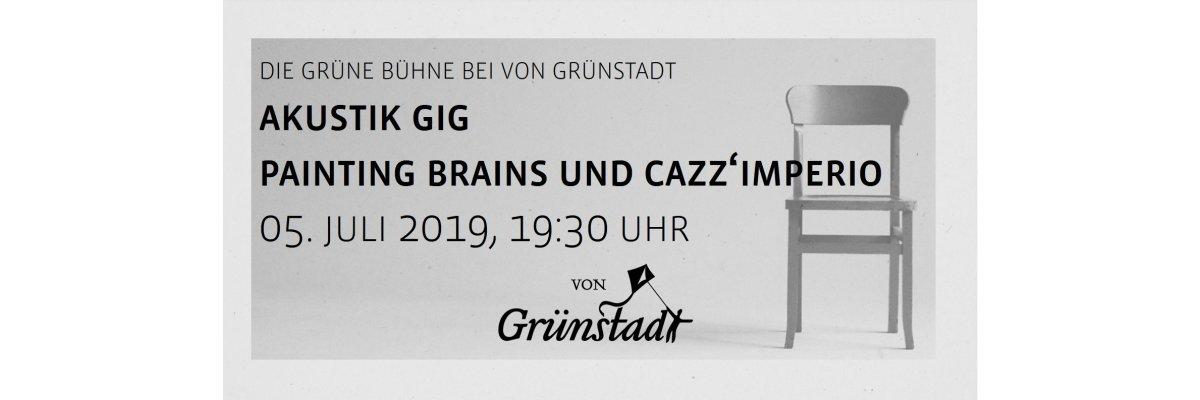 Die Grüne Bühne bei von Grünstadt - Akustik Gig 26. Juli 2019 - Die Grüne Bühne bei von Grünstadt - Akustik Gig