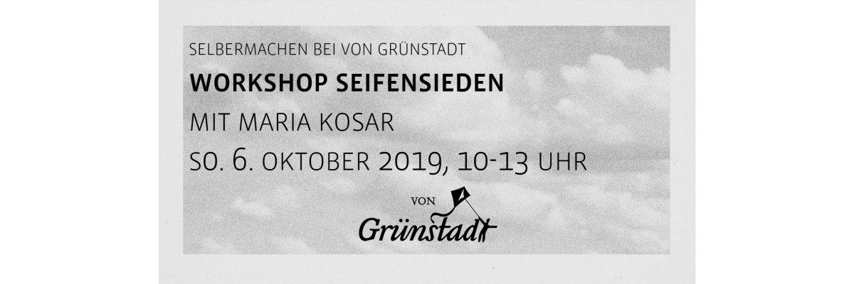 Workshop Seifensieden Olivenseifen mit Maria Kosar am 6. Oktober 2019 - Workshop Seifensieden Olivenseifen mit Maria Kosar am 6. Oktober 2019