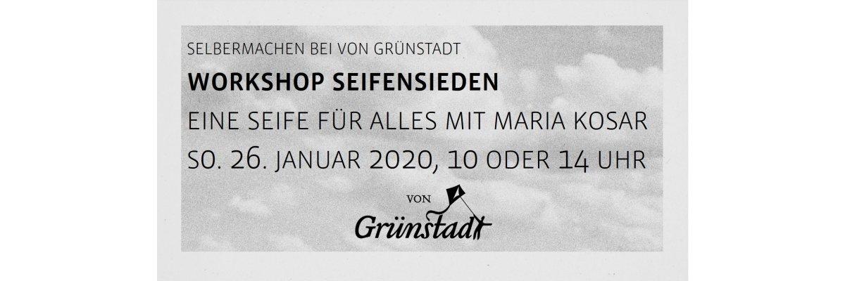 """Workshop Seifensieden """"eine Seife für Alles"""" mit Maria Kosar am 26. Januar 2020 - Workshop Seifensieden """"eine Seife für Alles"""" mit Maria Kosar am 26. Januar 2020"""