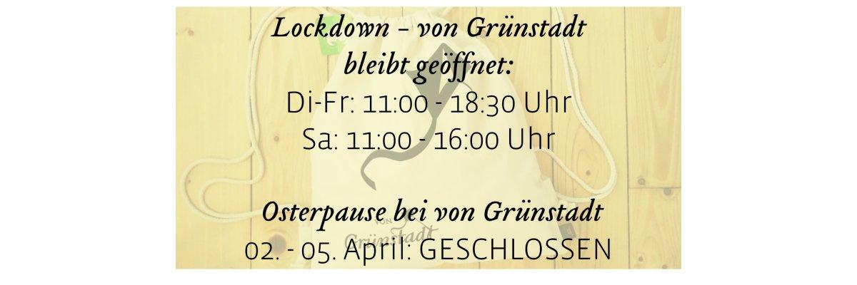 Osterpause bei von Grünstadt - Osterpause bei von Grünstadt