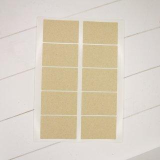 Grasetiketten 85 x 55 mm Bogen A4 mit 10 Etiketten