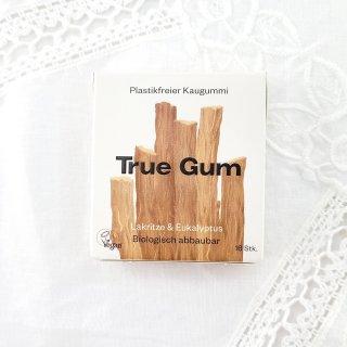 True Gum Plastikfreies Kaugummi Lakritze & Eukalyptus