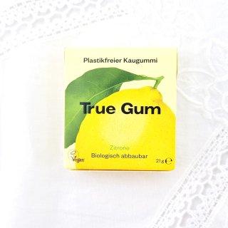 True Gum Plastikfreies Kaugummi Zitrone