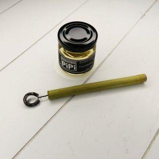 Einhornpipi - plastikfreie Seifenblasen mit kleinem Bambus-Draht-Stab 50 ml