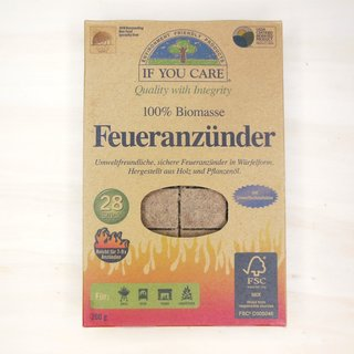 If You Care Feueranzünder Grillanzünder
