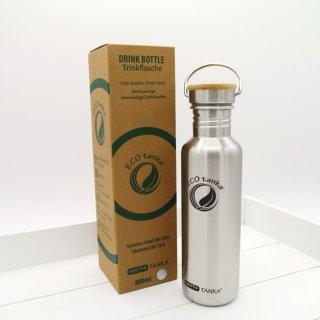 ECOtanka Sports Tanka Trinkflasche Edelstahl 800 ml