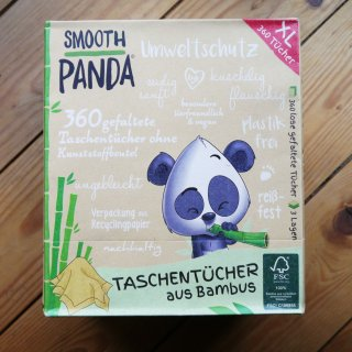 Smooth Panda Bambus Taschentücher Box 360 Stück