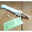 Bambus Strohhalme (2 Stück) mit Reinigungsbürste