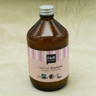 Fair Squared Shampoo Apricot 500 ml im Pfandglas