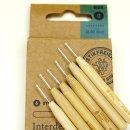 Hydrophil Interdental Sticks 0,40 mm mit Bambusgriff...