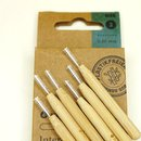 Hydrophil Interdental Sticks 0,60 mm mit Bambusgriff...