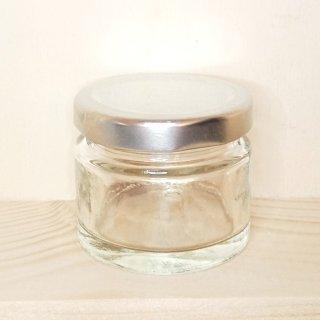 Rundglas 50 ml mit Deckel