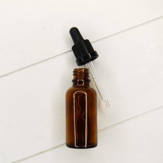 Braunglas Flasche mit Pipettenaufsatz 30 ml
