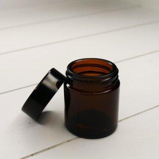 Braunglas Salbenglas Salbentiegel mit Bakelitdeckel 30 ml