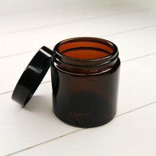 Braunglas Salbenglas Salbentiegel mit Bakelitdeckel 120 ml