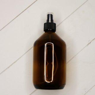 Braunglas Flasche mit Sprühaufsatz 500 ml