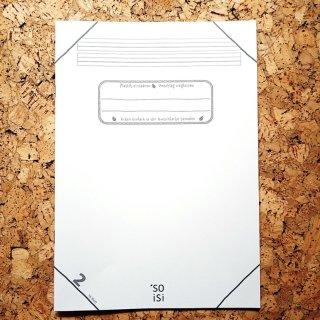 soisi Schulheft ohne Plastikumschlag DIN A4 Lineatur 2