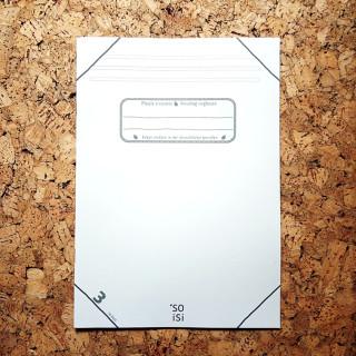 soisi Schulheft ohne Plastikumschlag DIN A4 Lineatur 3