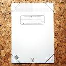 soisi Schulheft ohne Plastikumschlag DIN A4 Lineatur 28