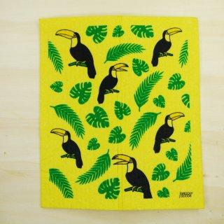 Groovy Goods Öko Schwammtuch Kompostierbar - Toucan
