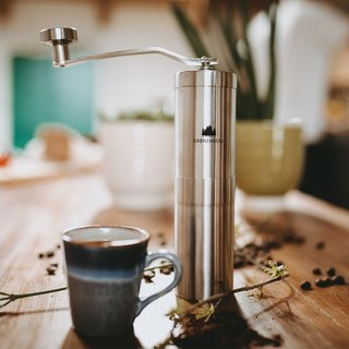 Gronenberg Handkaffeemühle Edelstahl