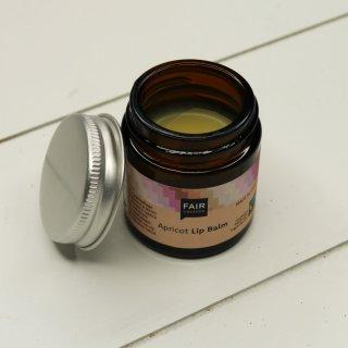Fair Squared Lip Balm Apricot im Pfandglas 20 g