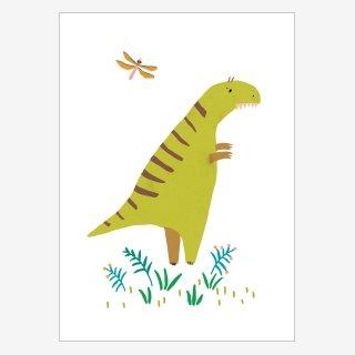 Noull Grußkarte Postkarte Dino