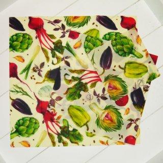 Little Bee Fresh Wachstücher Set S/M/L Gemüse