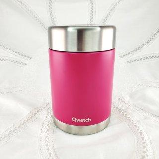 Qwetch Isolierte Edelstahl Lunchbox 650 ml - Originals Pink