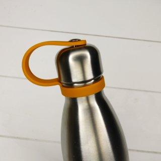 Qwetch Ersatzdeckel für Thermosflasche - Orange