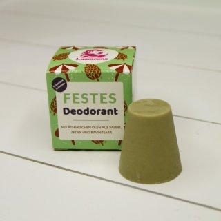 Lamazuna festes Deodorant Salbei, Zeder, Ravintsara 30 g